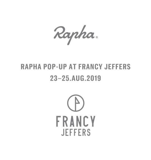 Rapha pop-up store.
