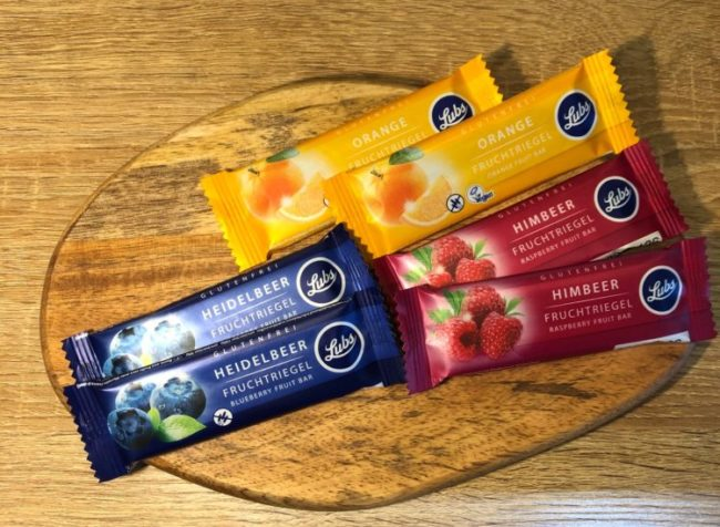 GLUTEN-FREE  FRUITS  BAR